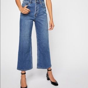 Free People Wales side leg jean
